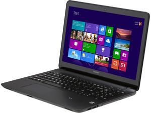 "SONY VAIO F Series SVF15212CXB Intel Core i3-3227U 1.9GHz 15.5"" Windows 8 64-Bit Notebook"