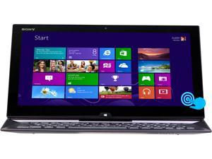 "SONY VAIO Duo 13 Intel Core i5 4GB 128GB SSD 13.3"" FHD Touchscreen 2-in-1 Ultrabook/Tablet (SVD13213CXB) - Carbon Black"