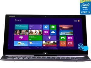 "SONY VAIO Duo 13 Intel Core i5 4200U(1.60GHz) 4GB 128GB SSD 13.3"" FHD Touchscreen 2-in-1 Ultrabook/Tablet (SVD13213CXB) - Carbon Black"
