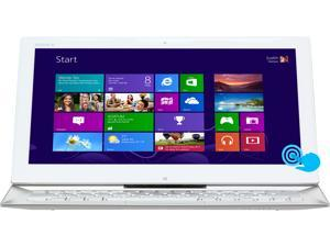 "SONY VAIO Duo 13 Intel Core i5 4GB 128GB SSD 13.3"" FHD Touchscreen 2-in-1 Ultrabook/Tablet (SVD13213CXW) - Carbon White"