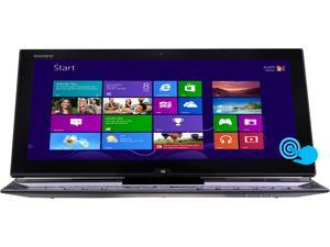 "SONY VAIO Duo 13 Intel Core i7 8GB 256GB SSD 13.3"" FHD Touchscreen 2-in-1 Ultrabook/Tablet (SVD13215PXB) - Carbon Black"