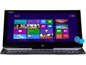 "SONY VAIO Duo 13 Intel Core i5 8GB 128GB SSD 13.3"" FHD Touchscreen 2-in-1 Ultrabook/Tablet (SVD1321BPXB) - Carbon Black"