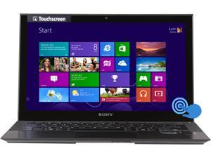 "SONY VAIO P Series SVP11214CXB Intel Core i7 8GB Memory 128GB SSD 11.6"" Touchscreen Ultrabook Windows 8 64-Bit"