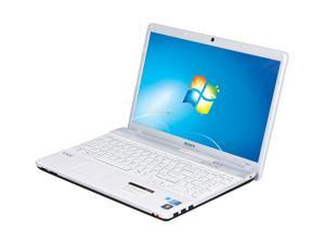 "SONY VAIO E Series VPCEB12FX/WI Intel Core i3-330M (2.13GHz) 15.5"" Windows 7 Home Premium 64-bit NoteBook"