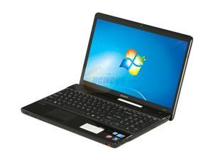 "SONY VAIO E Series VPCEB16FX/B Intel Core i3-330M(2.13GHz) 15.5"" Windows 7 Home Premium 64-bit NoteBook"