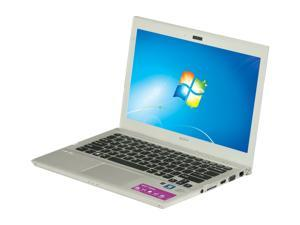 "SONY VAIO SVT13118FXS Intel Core i7 6GB Memory 128GB SSD 13.3"" Ultrabook Windows 7 Home Premium 64-Bit"
