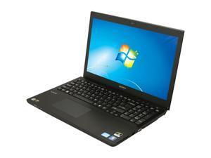 """SONY VAIO SVS15113FXB 15.5"""" Windows 7 Home Premium 64-Bit Laptop"""