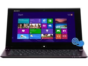 "SONY VAIO SVD11223CXB Intel Core i5 6GB Memory 128GB SSD 11.6"" Touchscreen Ultrabook Windows 8 64-Bit"
