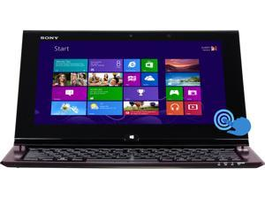 "SONY VAIO Duo 11 Intel Core i7 8GB 256GB SSD HDD 11.6"" FHD Touchscreen Convertible Ultrabook (SVD11225CXB)"
