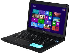 "SONY VAIO E Series SVE14132CXB Intel Core i3-3120M 2.5GHz 14.0"" Windows 8 64-Bit Notebook"