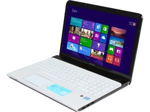 "SONY VAIO E Series SVE15134CXW Intel Core i3-3120M 2.5GHz 15.5"" Windows 8 64-Bit Notebook"