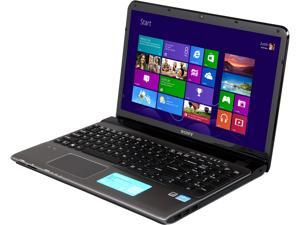 "SONY VAIO E Series SVE15135CXS Intel Core i5-3230M 2.6GHz 15.5"" Windows 8 64-Bit Notebook"