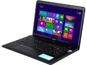 "SONY VAIO E Series SVE17137CXB Intel Core i7-3632QM 2.2GHz 17.3"" Windows 8 64-Bit Notebook"