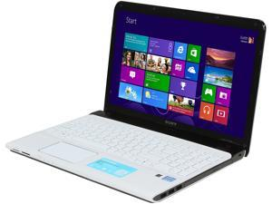 "SONY VAIO E Series SVE1513RCXW Intel Core i5-3230M 2.6GHz 15.5"" Windows 8 64-Bit Notebook"