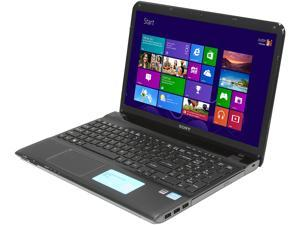 "SONY VAIO E Series SVE1513RCXB Intel Core i5-3230M 2.6GHz 15.5"" Windows 8 64-Bit Notebook"
