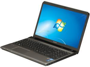 "SONY VAIO SVE15113FXS Intel Core i5-2450M 2.5GHz 15.5"" Windows 7 Home Premium 64-Bit Notebook"