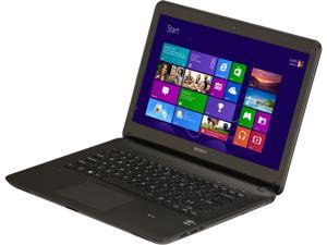 "SONY VAIO F Series SVF14212CXB Intel Core i3-3227U 1.90GHz 14.0"" Windows 8 64-Bit Notebook"