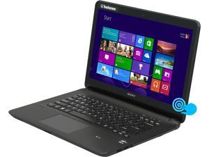 "SONY VAIO F Series SVF14213CXB Intel Core i3-3227U 1.90GHz 14.0"" Windows 8 64-Bit Notebook"