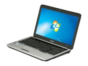 "SAMSUNG RV510-A03 Intel Pentium T4300 2.1GHz 15.6"" Windows 7 Home Premium 64-bit Notebook"