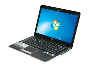 "MSI X370-001US AMD Dual-Core Processor E-350 1.6GHz 13.4"" Windows 7 Home Premium 64-bit Notebook"