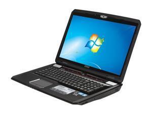 "MSI GX780-011US 17.3"" Windows 7 Home Premium 64-bit Laptop"