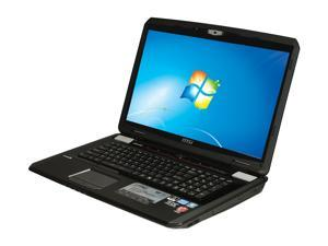 "MSI GT Series GT70 0NC-008US Intel Core i7-3610QM 2.3GHz 17.3"" Windows 7 Home Premium 64-Bit Notebook"