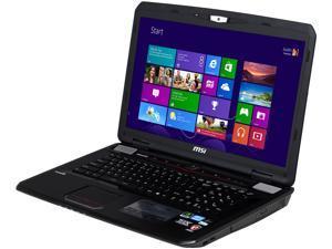 MSI GT Series GT70 0NE-452US Gaming Laptop Intel Core i7 3630QM (2.40GHz) 16GB Memory 1TB HDD 128GB SSD NVIDIA GeForce GTX ...