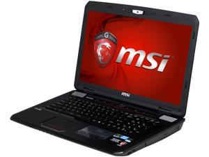 "MSI GT Series GT70 0NE-452US Gaming Laptop Intel Core i7-3630QM 2.4GHz 17.3"" Windows 8"