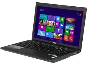 "MSI CX61 0NF-258US Intel Core i7-3630QM 2.4GHz 15.6"" Windows 8 Notebook"