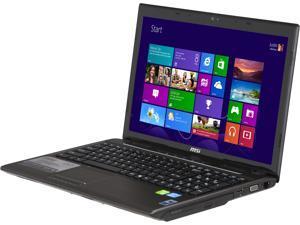"MSI C Series CX61 0OL-696US 15.6"" Windows 8 Laptop"