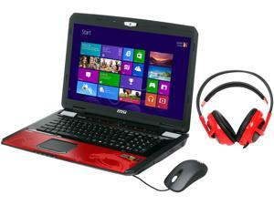 "MSI GT Series GT70 2OD-089US Gaming Laptop Intel Core i7-4930MX 3.0GHz 17.3"" Windows 8"