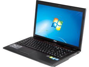 "MSI GP60 2OD-072US Gaming Laptop Intel Core i7-4700MQ 2.4GHz 15.6"" Windows 7 Home Premium"