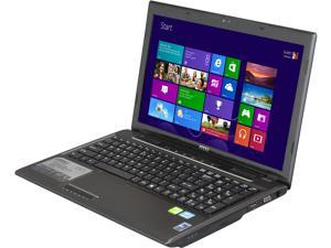 "MSI CX61 0NF-686MX 15.6"" Windows 8 Notebook"