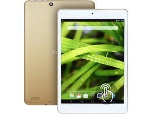 """MSI Primo 81 Android Tablet -  7.85"""" Touchscreen Quad-core CPU 1GB RAM 16GB Flash (White/Gold)"""