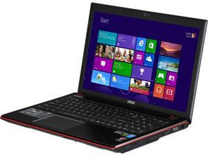 "MSI GE Series GE60 2OE-002US Intel Core i7-4700MQ 2.4GHz 15.6"" Windows 8 Notebook"