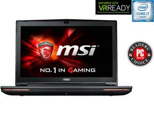 "MSI GT Series GT72S DomPro4K-059 Gaming Laptop 6th Generation Intel Core i7 6820HK (2.70 GHz) 16 GB Memory 1 TB HDD 256 GB SSD NVIDIA GeForce GTX 980 8 GB GDDR5 17.3"" 4K screen Windows 10 Home 64-Bit"
