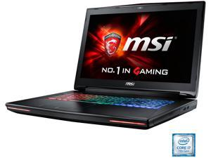 "MSI GT Series GT72VR DOMINATOR PRO-448 Gaming Laptop Intel Core i7 7th Gen 7700HQ (2.80 GHz) 16 GB Memory 1 TB HDD 256 GB SSD NVIDIA GeForce GTX 1070 8 GB GDDR5 17.3"" Windows 10 Home 64-Bit"