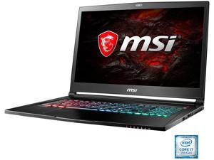 "MSI GS Series GS73VR STEALTH PRO-225 17.3"" Intel Core i7 7th Gen 7700HQ (2.80 GHz) NVIDIA GeForce GTX 1060 16 GB Memory 256 GB SSD 2 TB HDD Windows 10 Home 64-Bit Signature Gaming Laptop"