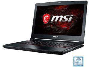"MSI GS Series GS43VR PHANTOM PRO-069 14.0"" Intel Core i7 7th Gen 7700HQ (2.80 GHz) NVIDIA GeForce GTX 1060 16 GB Memory 128 GB SSD 1 TB HDD Windows 10 Home 64-Bit Gaming Laptop"