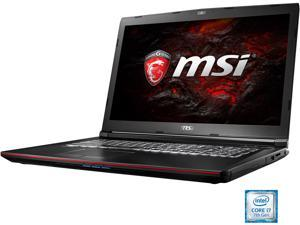 "MSI GP Series GP72VR Leopard Pro-281 Gaming Laptop Intel Core i7 7th Gen 7700HQ (2.80 GHz) 16 GB Memory 1 TB HDD NVIDIA GeForce GTX 1060 3 GB GDDR5 17.3"" Windows 10 Home 64-Bit"