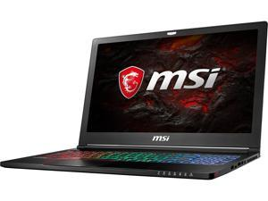 "MSI GS Series GS63VR Stealth Pro-422 15.6"" Intel Core i7 6th Gen 6700HQ (2.60 GHz) NVIDIA GeForce GTX 1060 VR Ready 16 GB Memory 1 TB HDD Windows 10 Home 64-Bit Gaming Laptop"
