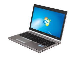 "HP EliteBook 8570p (B8V38UT#ABA ) 15.6"" Windows 7 Professional 64-Bit Notebook"