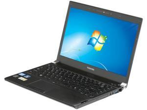 "TOSHIBA Portege R835-P56X Intel Core i5-2410M 2.30GHz 13.3"" Windows 7 Home Premium 64-bit Notebook"