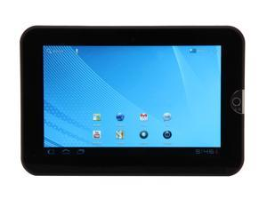 "TOSHIBA Thrive AT1S5-T16 16GB 7"" Tablet PC - Easy Grip Back Cover in Black Tie"