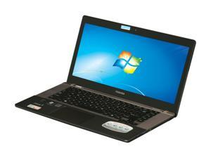 "TOSHIBA U845W-S414 Intel Core i7 6GB Memory 256GB SSD 14.4"" Ultrabook Windows 7 Home Premium 64-Bit"