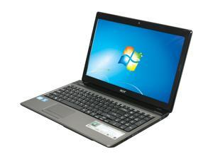 "Acer Aspire AS5750-6634 Intel Core i5-2410M 2.30GHz 15.6"" Windows 7 Home Premium 64-bit Notebook"