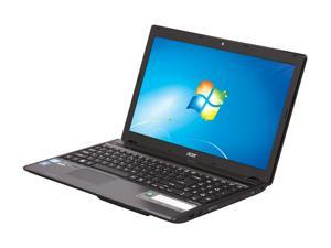"Acer Aspire AS5755G-6823 Intel Core i5-2430M 2.4GHz 15.6"" Windows 7 Home Premium 64-Bit Notebook"