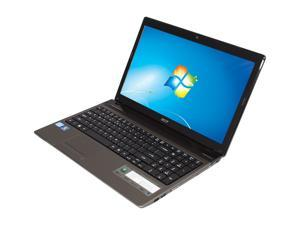 "Acer Aspire AS5750-9422 Intel Core i7-2670QM 2.2GHz 15.6"" Windows 7 Home Premium 64-Bit Notebook"