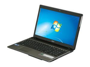 "Acer Aspire AS5750-6414 Intel Core i5-2450M 2.5GHz 15.6"" Windows 7 Home Premium 64-Bit Notebook"