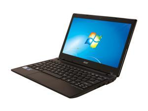 "Acer Aspire One AO756-4854 Ash Black 11.6"" Netbook"